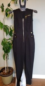 New condition jumpsuit with gold embellishments